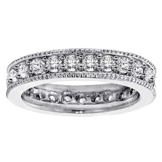 14k/ 18k Gold or Platinum 1 3/4ct TDW Diamond Eternity Band (F-G, SI1-SI2)