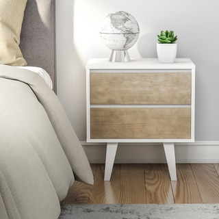 Madrid 2-drawer Nightstand