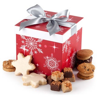Mrs. Fields Cookies Snowflake Box