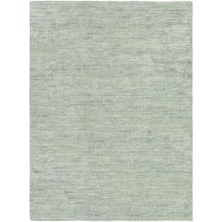 Anji Hand-loomed Anji/ Oatmeal Area Rug (5'3 x 7'6)