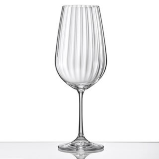 Red Vanilla 18.5-oz Viola Optic Red Wine Glass (Set of 6)