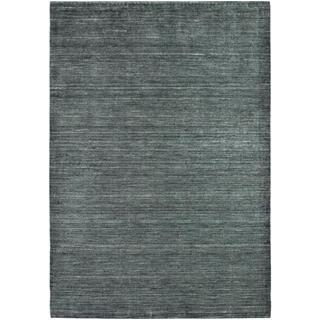 Anji Hand-loomed Anji/ Slate Area Rug (5'3 x 7'6)