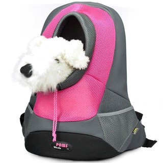 Wacky Paws Pink Backpack Pet Carrier