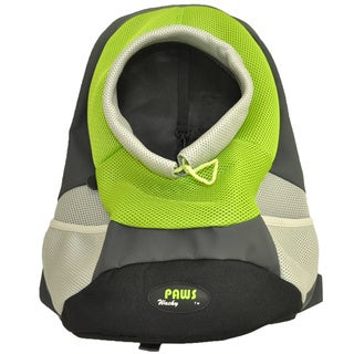 Wacky Paws Green Backpack Pet Carrier