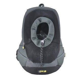 Wacky Paws Black Backpack Pet Carrier
