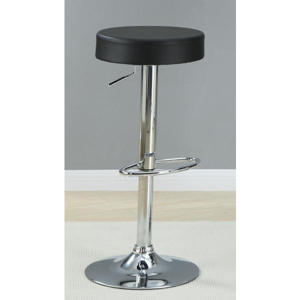 Soley Contemporary Adjustable Barstools (Set of 2)