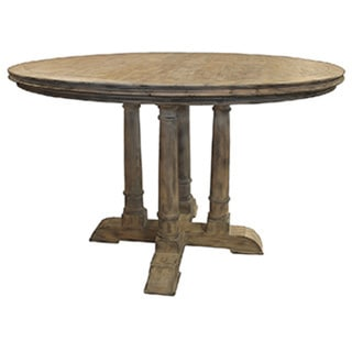 Counter Height Reclaimed Wood Table : Victoria Reclaimed Wood Counter Height Round Table - 15710099 ...