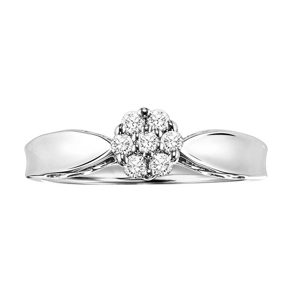 Cambridge Sterling Silver 1/5ct TDW Diamond Promise Ring 11823920