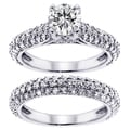 14k/18k Gold or Platinum 3 4/5ct TDW Clarity Enhanced Diamond Bridal Ring Set (F-G, SI1-SI2)