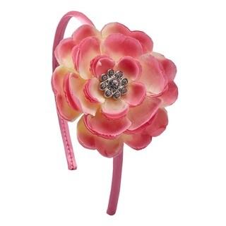 Bow Clippeez 2 Envy Girls Boutique Gem Centered Flower Headband