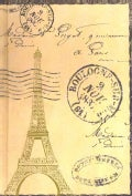 Eiffel Tower Journal: Paper Journal (Notebook / blank book)