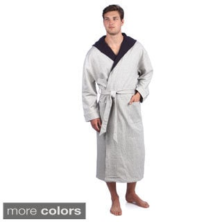 Majestic Men's Hooded French Terry Robe (One size)