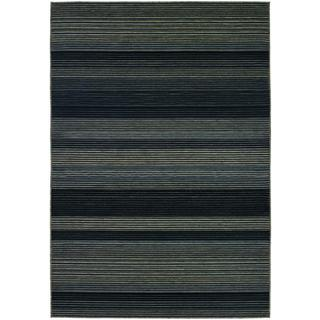 Berkshire Hoosic/ Grey-black Area Rug (7'6 x 10'9)