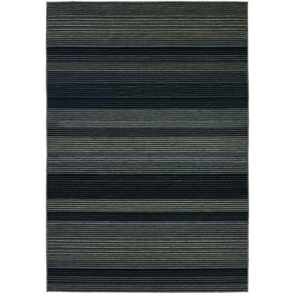 Berkshire Hoosic/ Grey-black Area Rug (7'6 x 10'9)