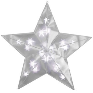 2-foot Prismagic Star of Clear LED Lights