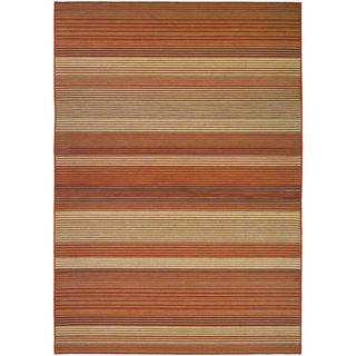 Berkshire Hoosic/ Terra-cotta-corn Area Rug (7'6 x 10'9)