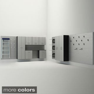 Flow Wall 12-piece Dream Garage Cabinet System