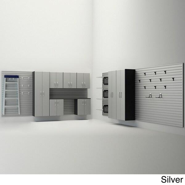 Flow Wall 12-piece Dream Garage Cabinet System