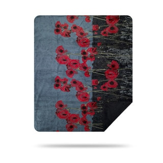 Denali 50 x 60-inch Poppies Throw Blanket