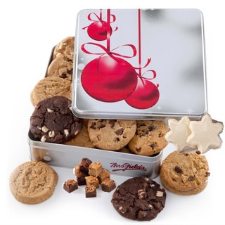 Mrs. Fields Cookies & Brownies Ornament Gift Tin