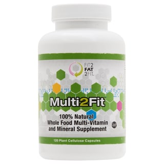 Multi2Fit All-natural Multi-Vitamin Supplement
