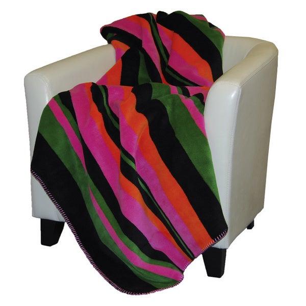 Denali Bold Stripe Throw Blanket