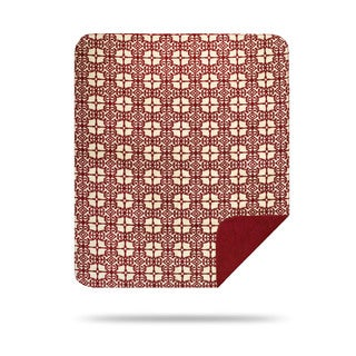 Denali Garnet Moroccan Throw