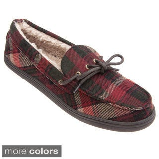 Woolrich Men's 'Lewisburg' Plaid Cotton Slippers