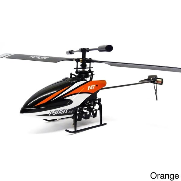 Riviera RC 10-inch Shuttle Single Rotor 4CH 2.4GHz Helicopter with Gyro and Servo