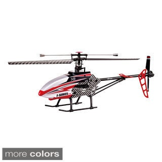 Riviera RC 28-inch Shuttle Single Rotor 4CH 2.4GHz Helicopter with Gyro and Servo