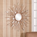 Upton Home Naomi Starburst Mirrored Wall Sculpture