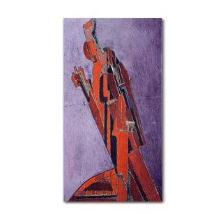 Lawrence Atkinson 'Figure Study' Canvas Art