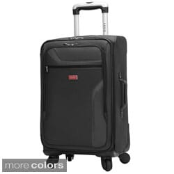 IZOD Journey 3.0 28-inch 4-wheel Expandable Spinner Upright Suitcase