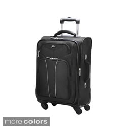 Skyway 'Sigma 4' 20-inch 4-wheel Expandable Spinner Carry On Upright Suitcase