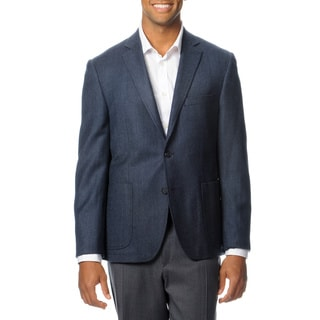 Nautica Men's Blue Herringbone Wool Blend 'Gear' Sport Coat
