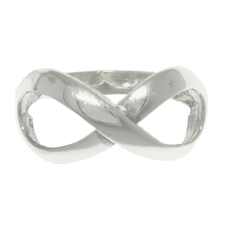 Carolina Glamour Collection Sterling Silver Infinity Ring