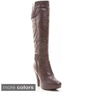 Gomax Women's 'News 10' Knee-high Platform Boots