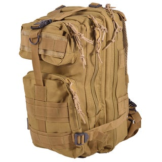 Dash 24/7 Mil-Tech Army Combat Tactical Assault Molle 30L Tan Backpack