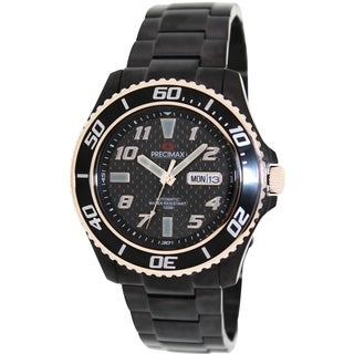 Precimax Men's Aqua Classic Automatic PX13223 Black Stainless-Steel Black Dial Automatic Watch