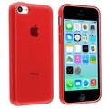 BasAcc Red TPU Rubber Case for Apple� iPhone 5C