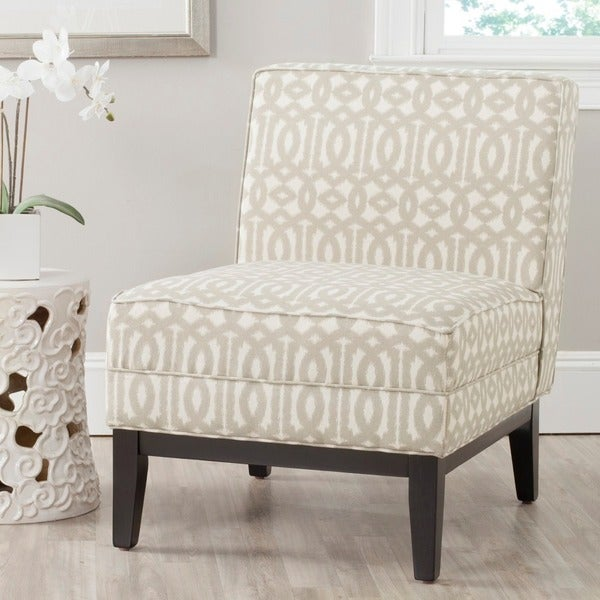 Safavieh Armond Grey/ Cream Chair