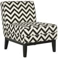 Armond Black/ White Chair