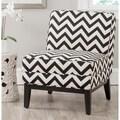Safavieh Armond Black/ White Chair
