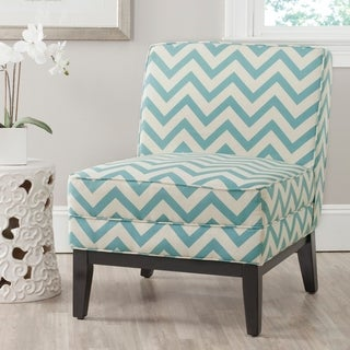 Safavieh Armond Blue/ WhiteChair