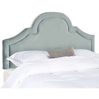 Kerstin Wedgwood Blue Arched Queen Headboard (Queen)
