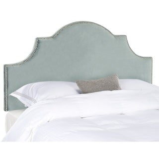 Hallmar Wedgwood Blue Arched Size Headboard (Queen)