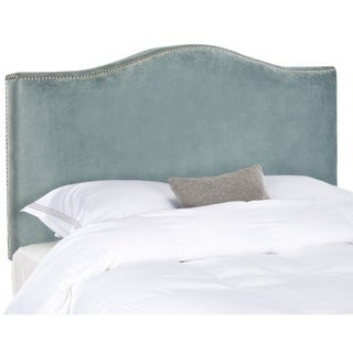 Jeneve Wedgwood Blue Camelback Headboard (Queen)