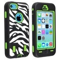 BasAcc Green Hard/ Zebra Skin Hybrid Case for Apple� iPhone 5C
