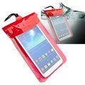 BasAcc Red Universal Tablet Waterproof Bag Case