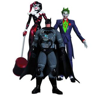 Batman Hush: Joker, Harley Quinn and Stealth Batman Action Figure Pack of 3